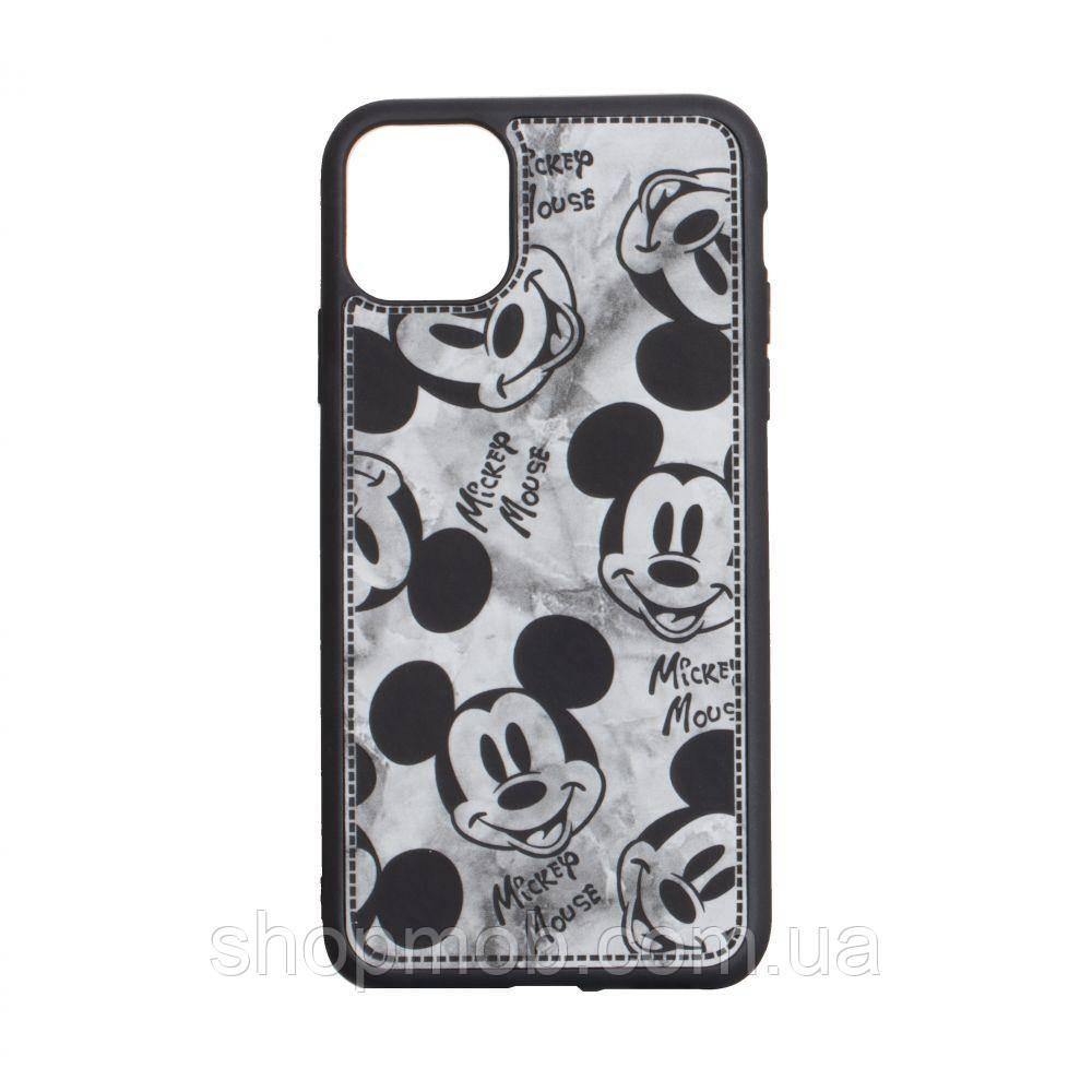 Чехол Mickey Color print for Apple Iphone 11 Pro Max Цвет Чёрный
