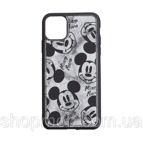 Чехол Mickey Color print for Apple Iphone 11 Pro Max Цвет Чёрный, фото 2