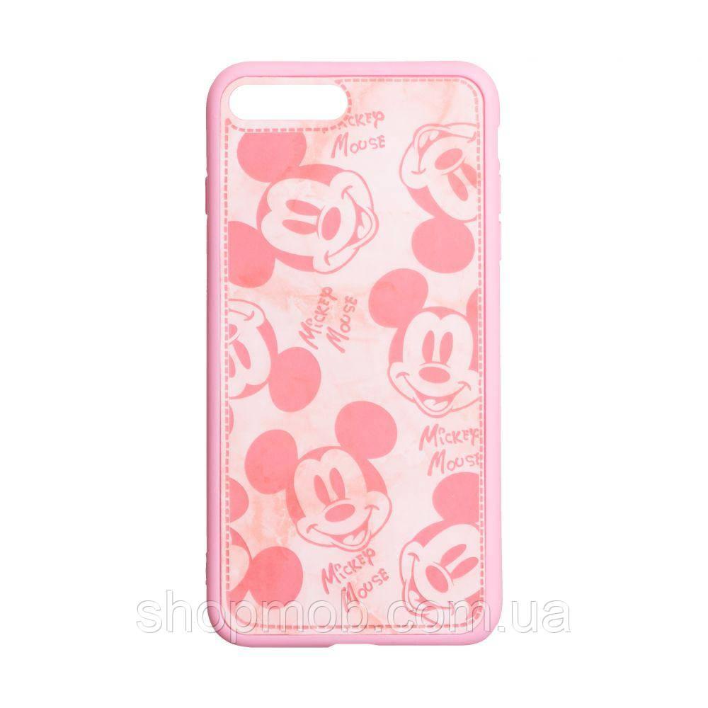 Чехол Mickey Color print for Apple Iphone 7/8 Plus Цвет Розовый