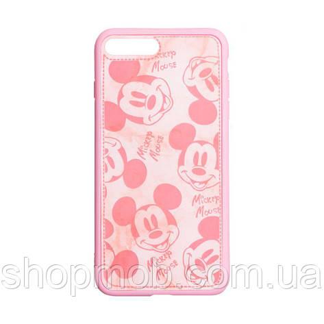 Чехол Mickey Color print for Apple Iphone 7/8 Plus Цвет Розовый, фото 2