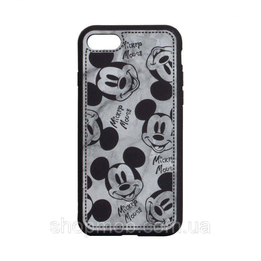Чехол Mickey Color print for Apple Iphone 7 / 8 / SE 2020 Цвет Чёрный