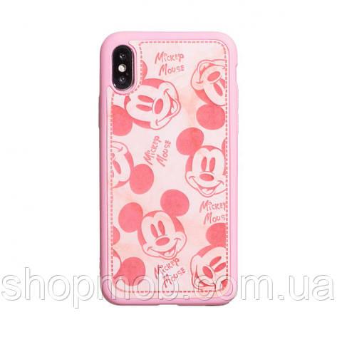 Чехол Mickey Color print for Apple Iphone X/Xs Цвет Розовый, фото 2