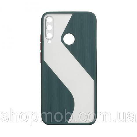 Чохол Totu Wave for Huawei P40 lite E Колір Зелений, фото 2