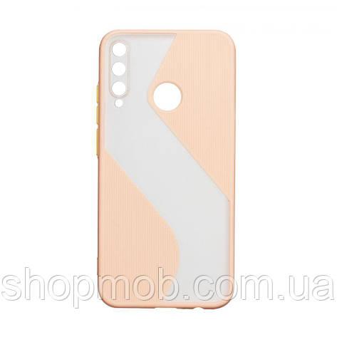 Чохол Totu Wave for Huawei P40 lite E Колір Рожевий, фото 2