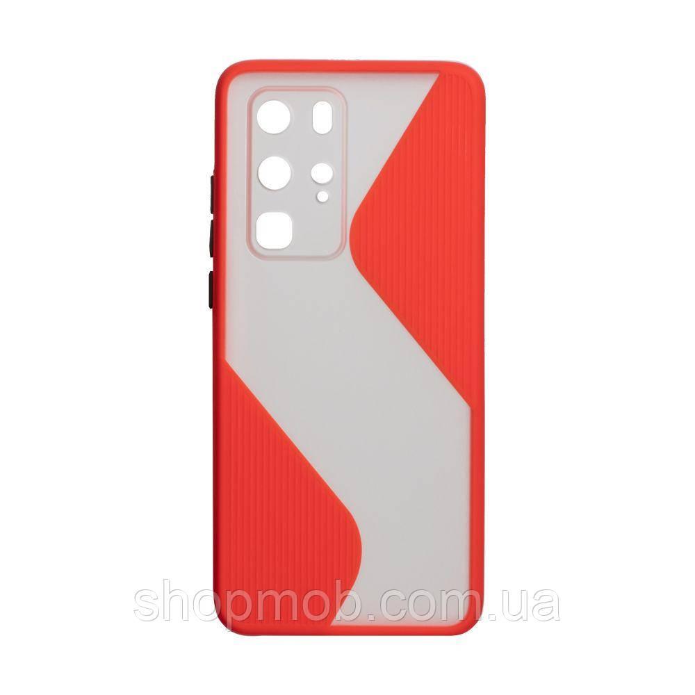 Чехол Totu Wave for Huawei P40 Pro Цвет Красный