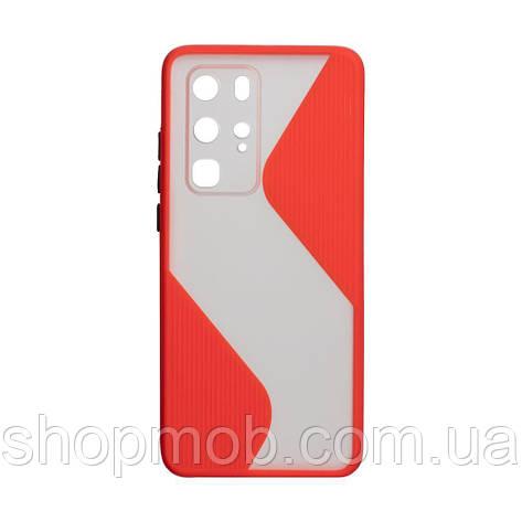 Чехол Totu Wave for Huawei P40 Pro Цвет Красный, фото 2