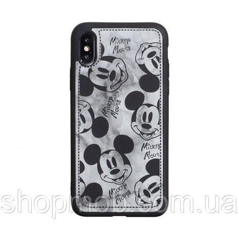 Чехол Mickey Color print for Apple Iphone X/Xs Цвет Чёрный, фото 2
