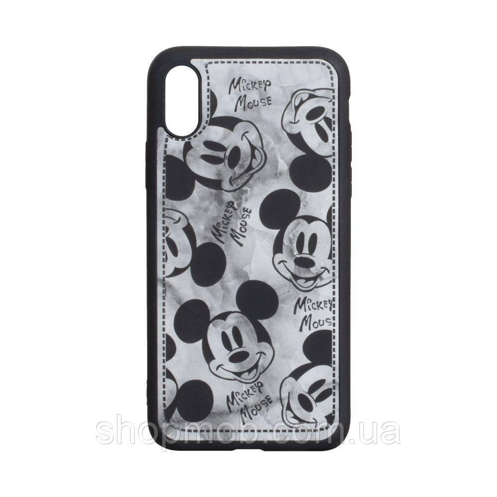 Чехол Mickey Color print for Apple Iphone Xs Max Цвет Чёрный