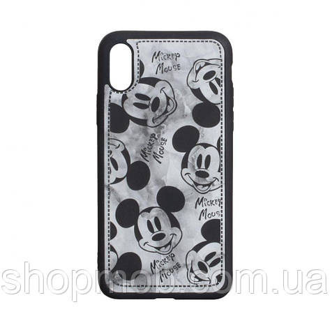 Чехол Mickey Color print for Apple Iphone Xs Max Цвет Чёрный, фото 2