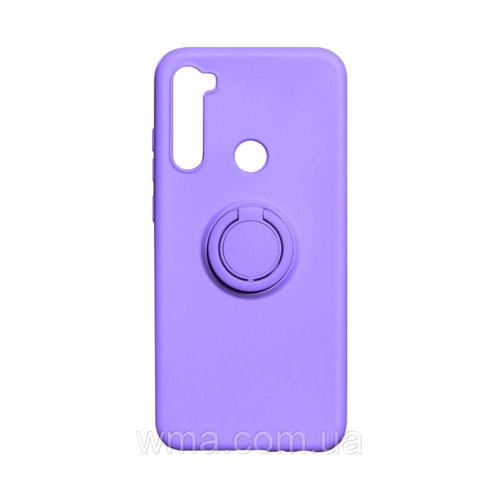Чехол Ring Color for Xiaomi Redmi Note 8T Цвет Фиолетовый