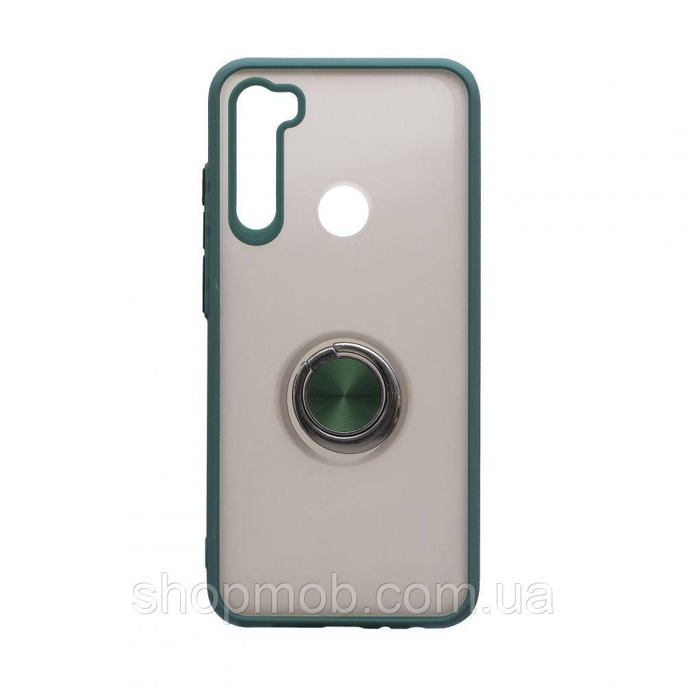 Чехол Totu Copy with Ring for Xiaomi Redmi Note 8T Цвет Зелёный