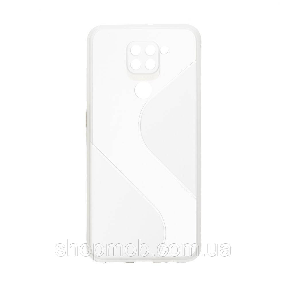 Чехол Totu Clear Wave for Xiaomi Redmi Note 9 Цвет Белый