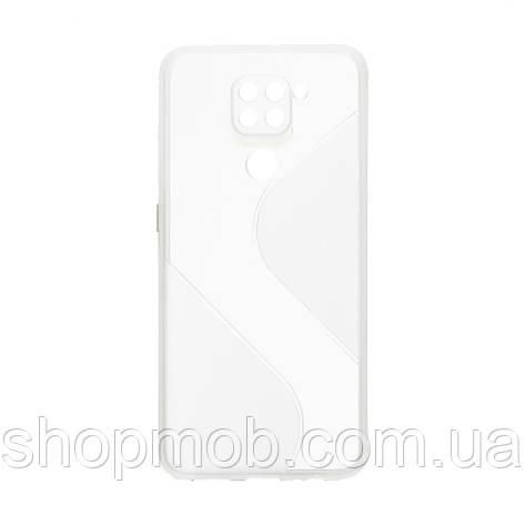Чехол Totu Clear Wave for Xiaomi Redmi Note 9 Цвет Белый, фото 2
