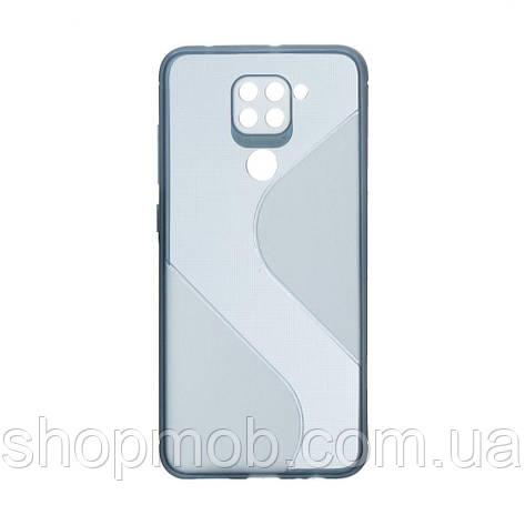 Чехол Totu Clear Wave for Xiaomi Redmi Note 9 Цвет Синий, фото 2