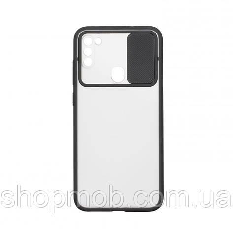 Чехол Totu Curtain for Samsung A11/M11 Цвет Чёрный, фото 2