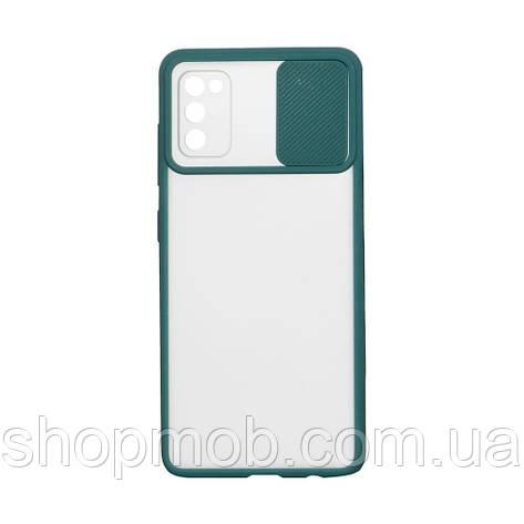 Чехол Totu Curtain for Samsung A41 Цвет Зелёный, фото 2