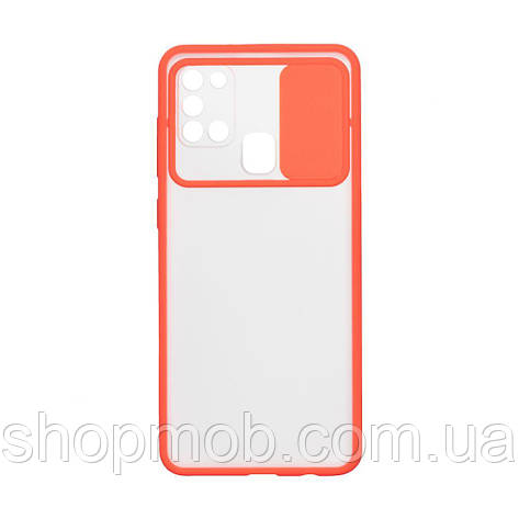Чехол Totu Curtain for Samsung A21s Цвет Красный, фото 2