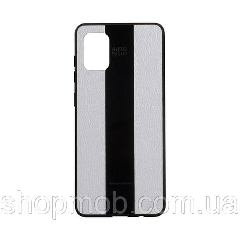 Чехол Combi Leather for Samsung A31 Цвет 09, White, фото 2
