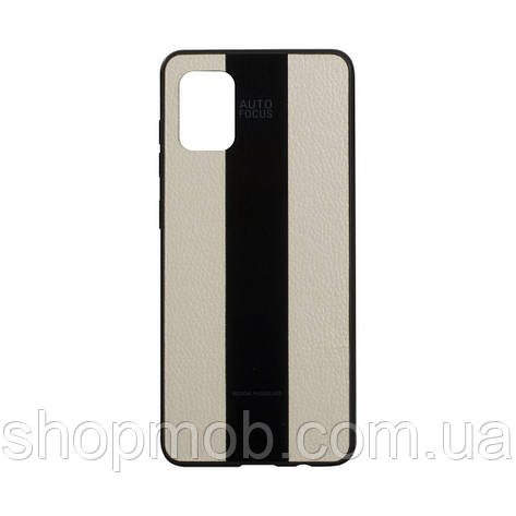 Чехол Combi Leather for Samsung A51 Цвет 10, Beige, фото 2