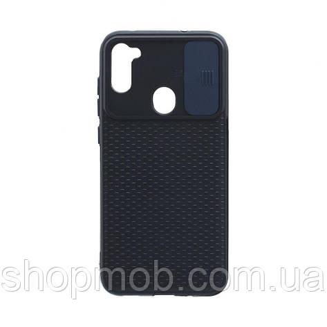 Чехол Non-Slip Curtain for Samsung A11 Цвет Синий, фото 2