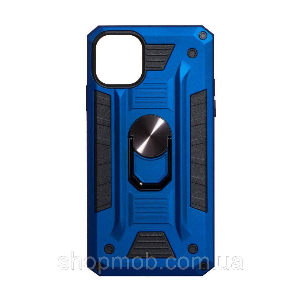 Чехол Robot Case with ring for Apple Iphone 11 Pro Max Цвет Синий