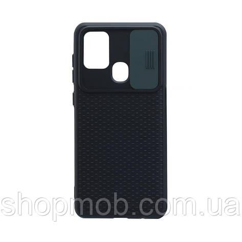 Чехол Non-Slip Curtain for Samsung A21s Цвет Зелёный, фото 2