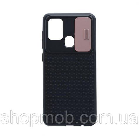 Чехол Non-Slip Curtain for Samsung A21s Цвет Розовый, фото 2