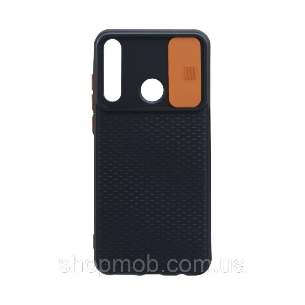 Чехол Non-Slip Curtain for Huawei Y6P Eur Ver Цвет Оранжевый