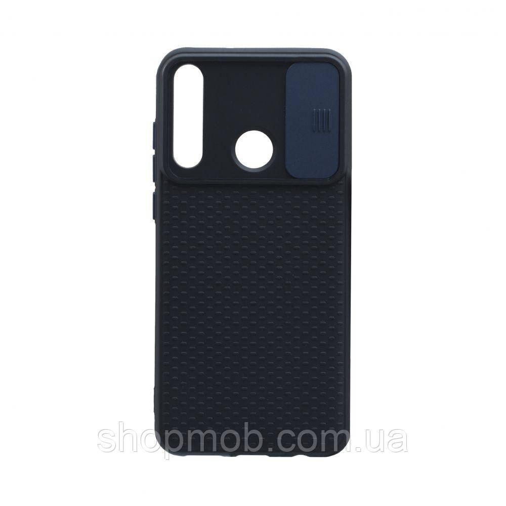 Чехол Non-Slip Curtain for Huawei Y6P Eur Ver Цвет Синий