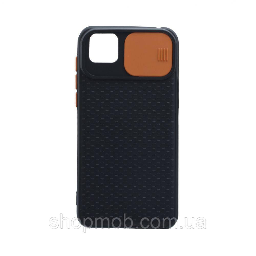 Чехол Non-Slip Curtain for Huawei Y5P Eur Ver Цвет Оранжевый