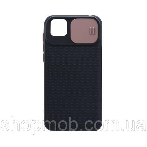 Чехол Non-Slip Curtain for Huawei Y5P Eur Ver Цвет Розовый, фото 2