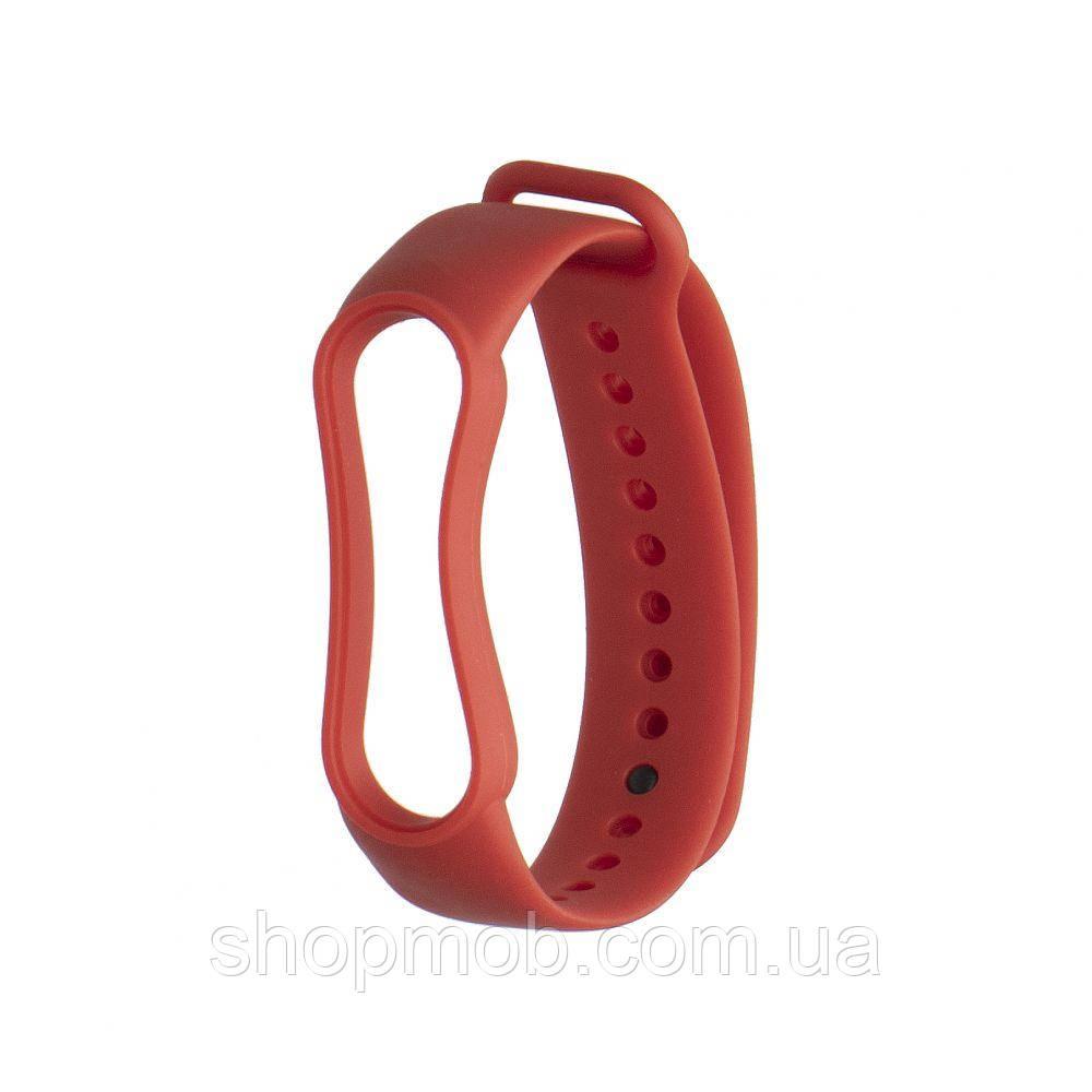 Ремешок для Xiaomi Mi Band 5 Original Design Цвет Красный