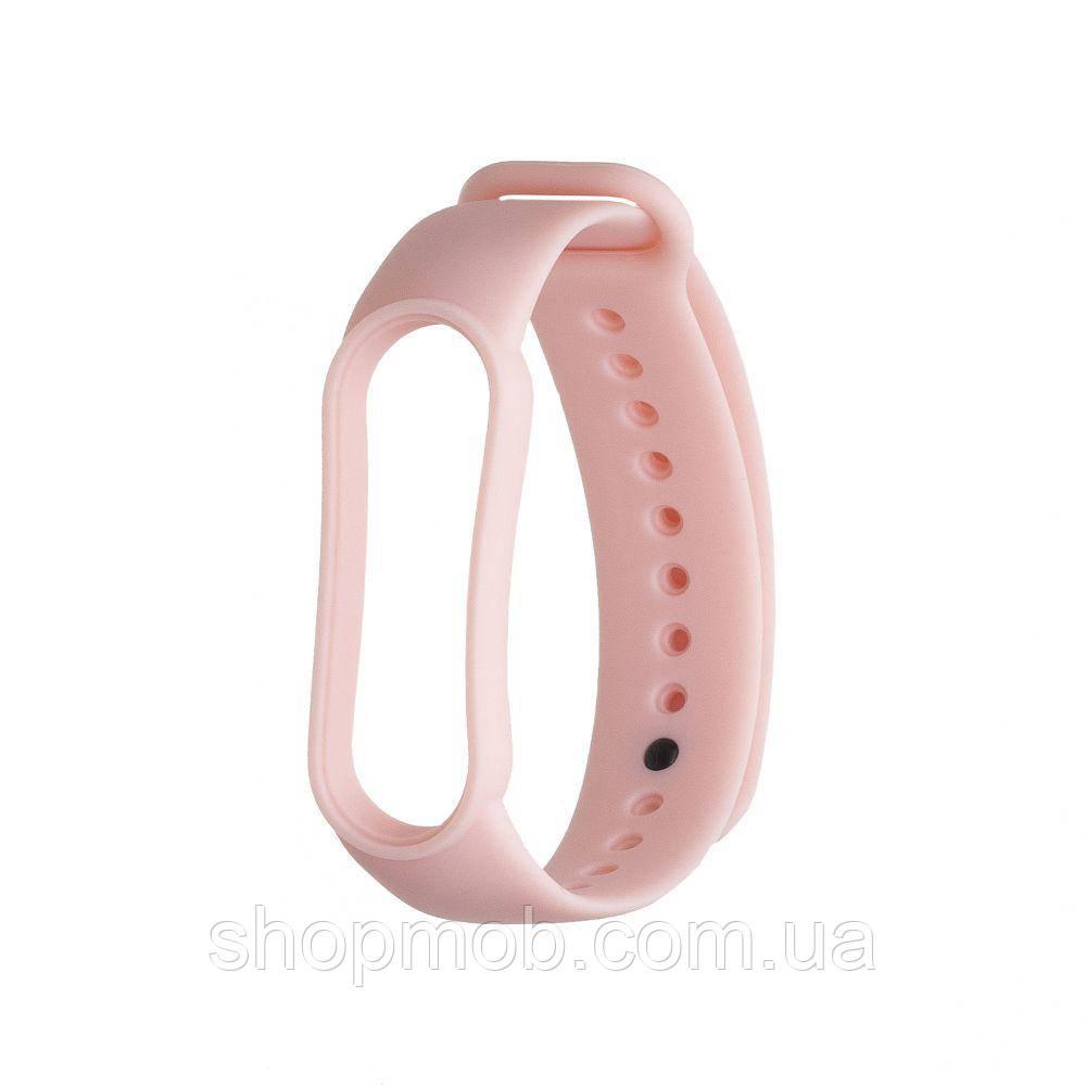 Ремешок для Xiaomi Mi Band 5 Original Design Цвет Светло-Розовый