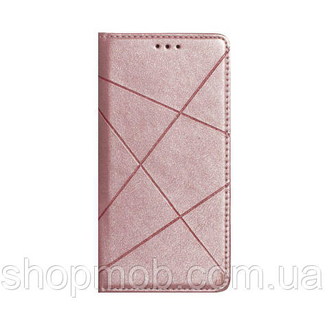 Чехол-книжка Business Leather for Huawei P40 Lite Цвет Розовый, фото 2