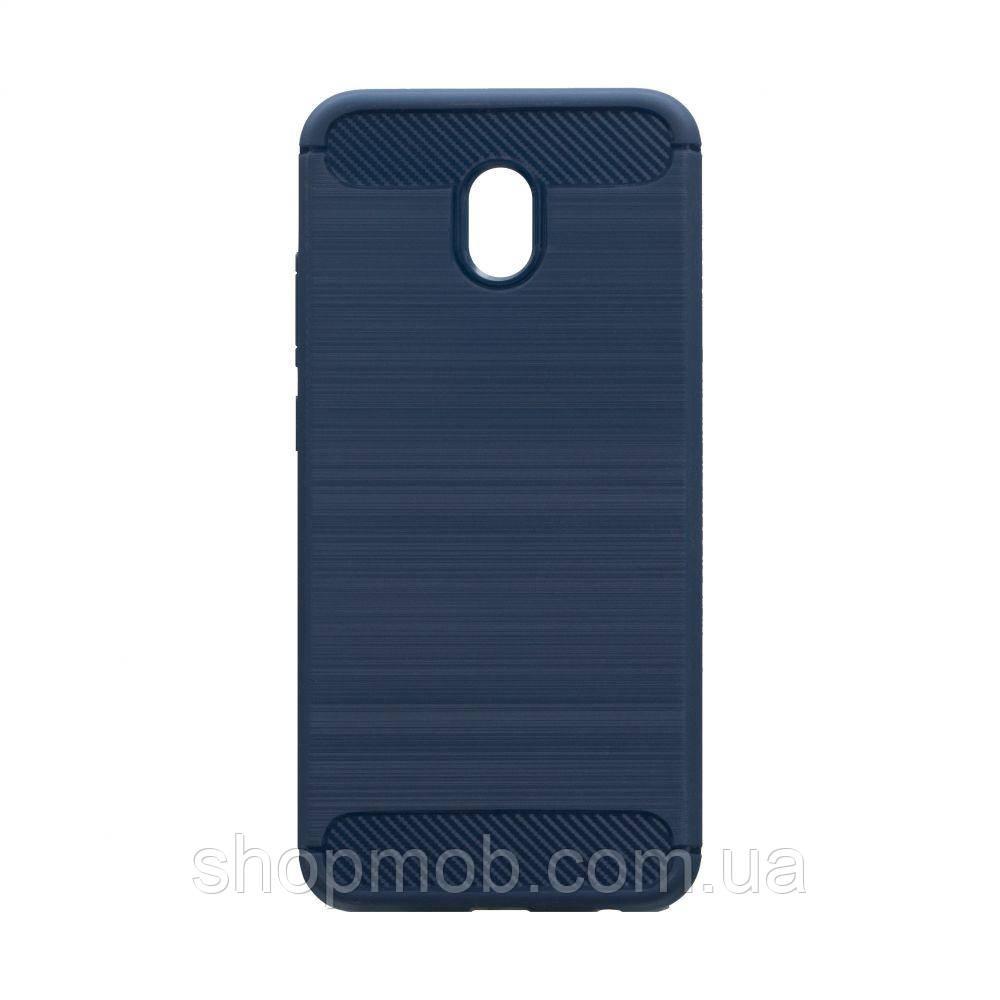 Чехол Polished Carbon Xiaomi Redmi 8A Цвет Синий