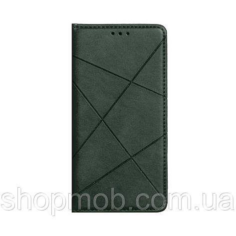 Чохол-книжка Business Leather for Samsung S20 Plus 2020 Колір Зелений, фото 2