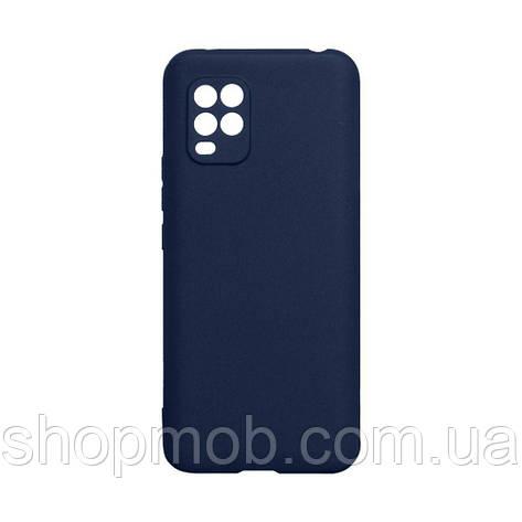 Чехол SMTT Xiaomi Mi 10 Lite Цвет Синий, фото 2