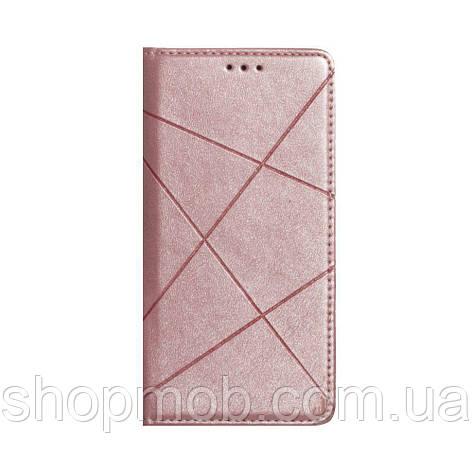 Чохол-книжка Business for Leather Xiaomi Mi 10 Lite Колір Рожевий, фото 2