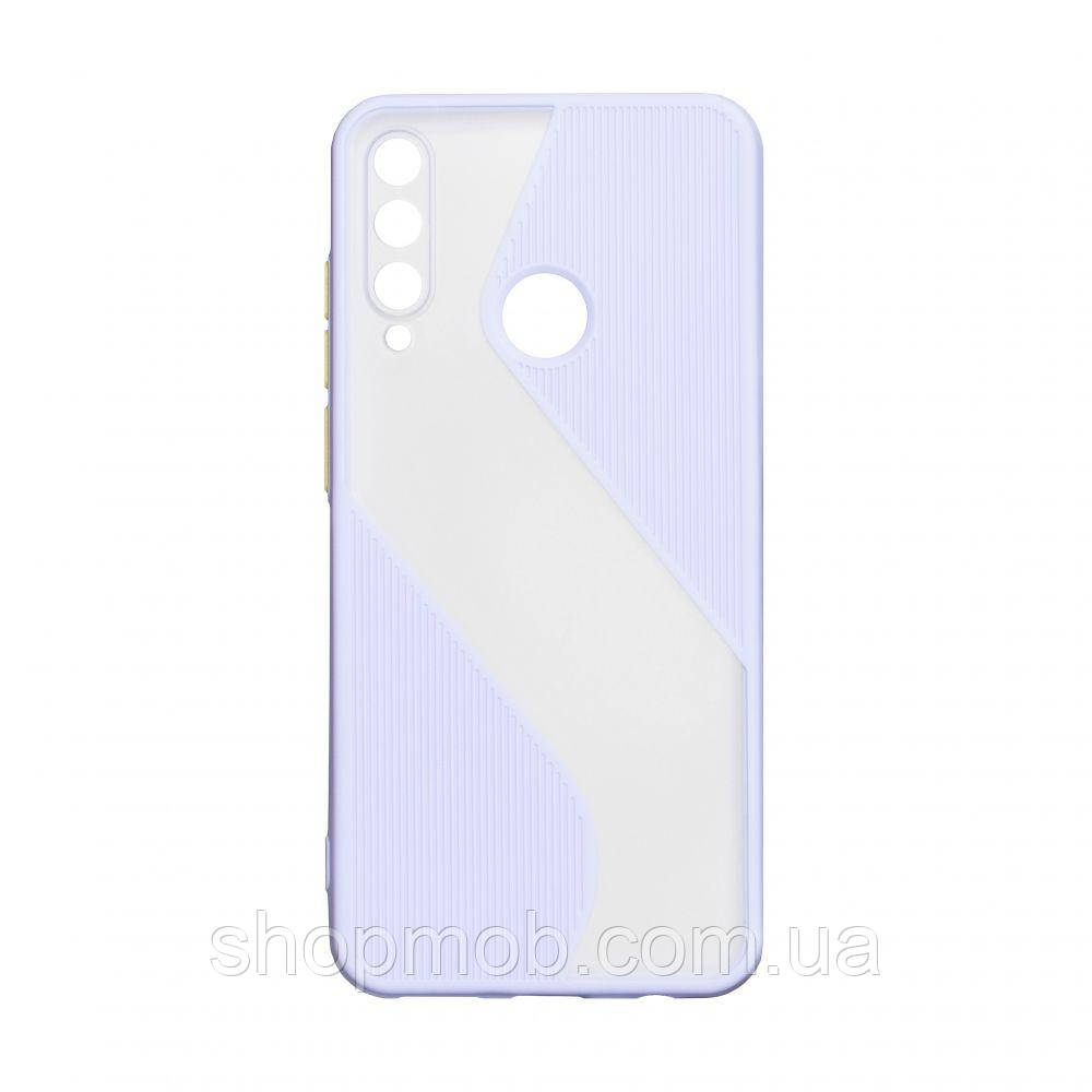 Чехол Totu Wave for Huawei Y6P Eur Ver Цвет Сиреневый
