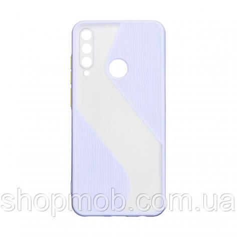 Чехол Totu Wave for Huawei Y6P Eur Ver Цвет Сиреневый, фото 2