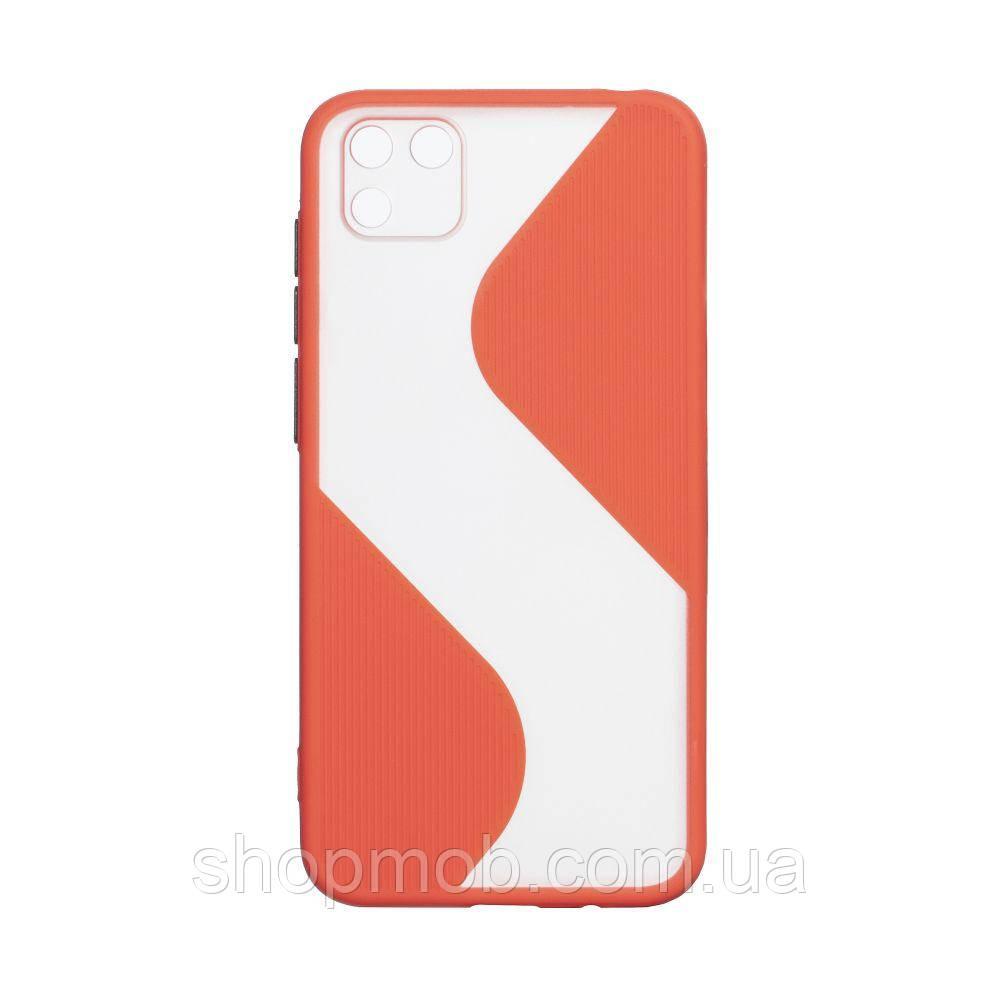 Чехол Totu Wave for Huawei Y5P Eur Ver Цвет Красный