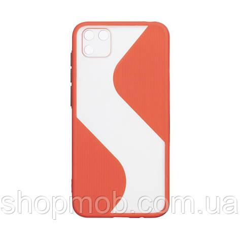 Чехол Totu Wave for Huawei Y5P Eur Ver Цвет Красный, фото 2