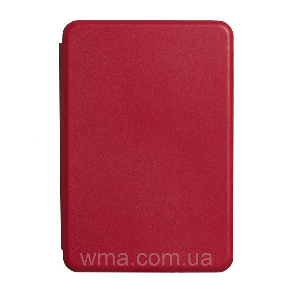 Чехол-Книжка Оригинал Кожа Apple Ipad Mini 5 Цвет Красный