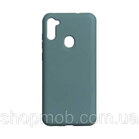 Чохол Full Case Original for Samsung A11/M11 Колір Dark Green, фото 2