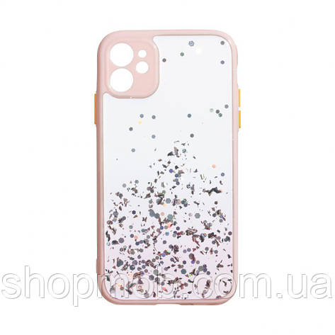 Чехол Frame with Sequins for Iphone 11 Цвет Розовый, фото 2
