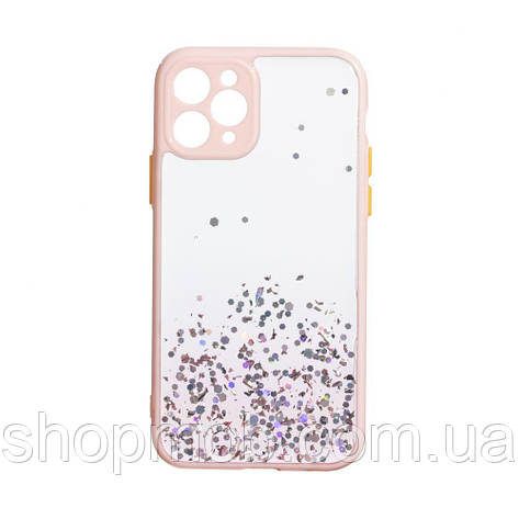 Чехол Frame with Sequins for Iphone 11 Pro Цвет Розовый, фото 2
