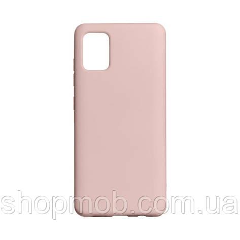 Чехол Full Case Original for Samsung A41 Цвет Pink, фото 2