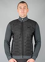 Мужская Зимняя спортивная кофта Nike (Nike-zzz-7378-1). Теплая кофта, толстовка, свитшот. Реплика