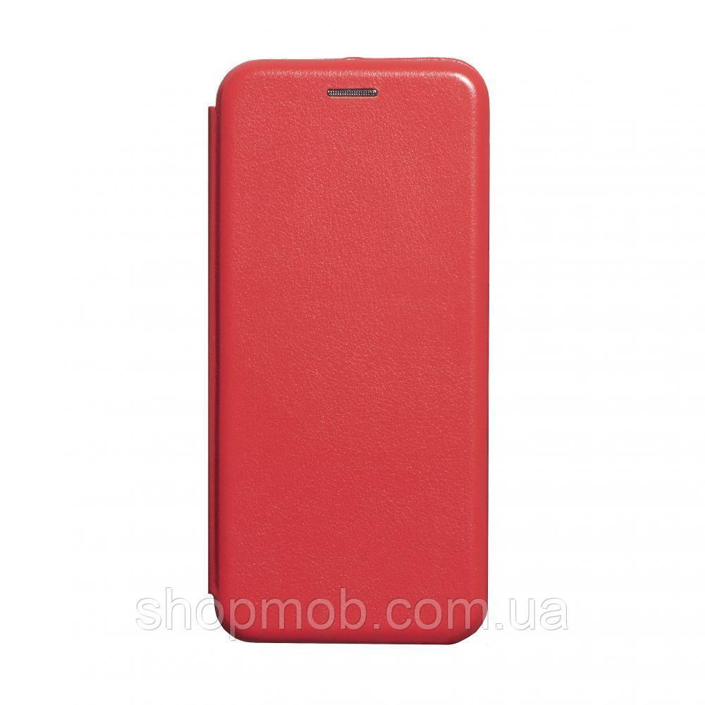 Чохол-книжка шкіра Samsung A51 Колір Червоний