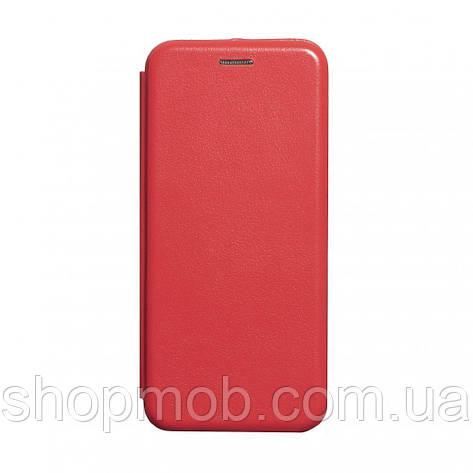 Чохол-книжка шкіра Samsung A51 Колір Червоний, фото 2